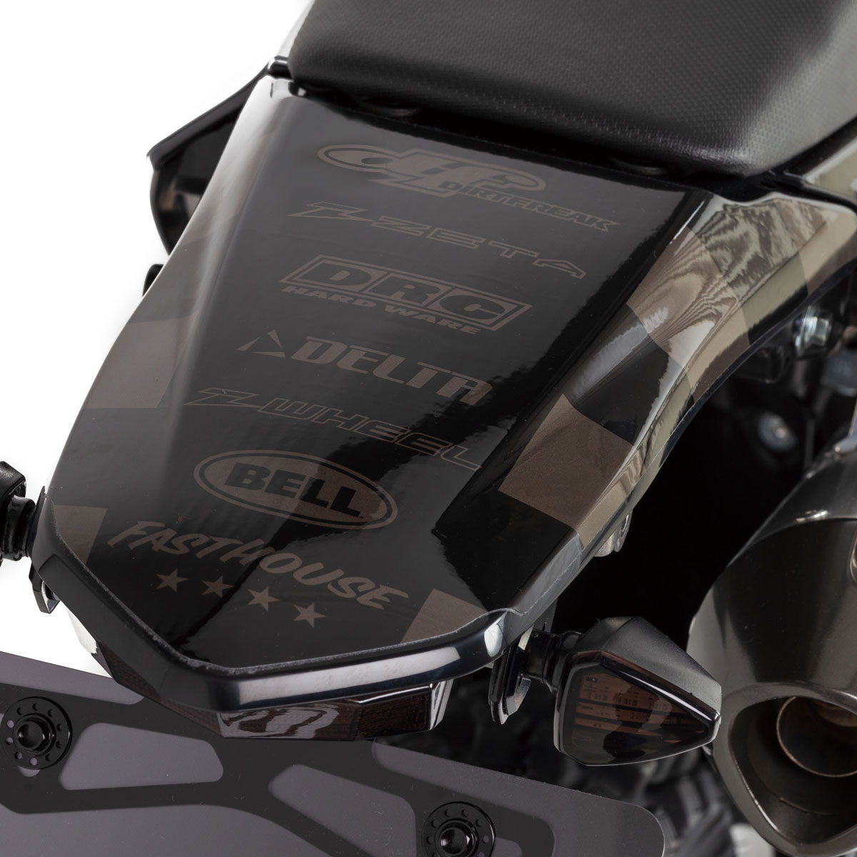 KLX230 FASTHOUSE グラフィックキット